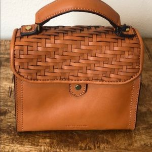 Cognac Globe Leather